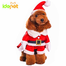 Christmas Cat Clothes Costume Clothes