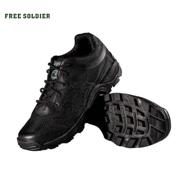 FREE SOLDIER walking men climbing shoes sport shoes men hiking boots mountain shoes non-slip breathable outdoor hiking shoes