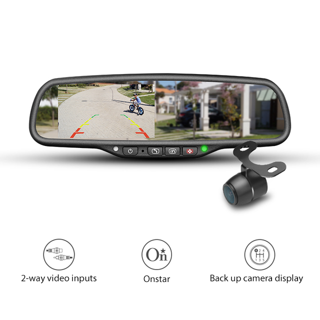 Hk 043la On Oem Style 4 3 Smart Car Rear View Mirror Monitor With