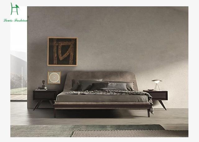 Slaapkamer Massief Hout : Louis mode europese stijl moderne eenvoudige massief hout slaapkamer