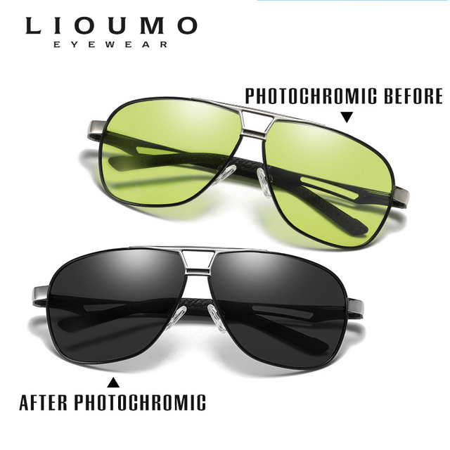 Day Night Intelligent Photochromic Polarized Driving Sunglasses for Men Women Safety Driving UV400 Sun Glasses 2