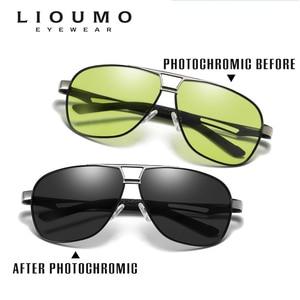 Image 2 - Day Night Intelligent Photochromic Polarized Sunglasses Men Sunglasses for Drivers Women Safety Driving UV400 Sun Glasses Oculos