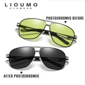 Image 2 - Ngày Đêm Thông Minh Photochromic Kính Mát Kính Mát Nam Cho Trình Điều Khiển Nữ An Toàn Lái Xe UV400 Kính Chống Nắng Oculos