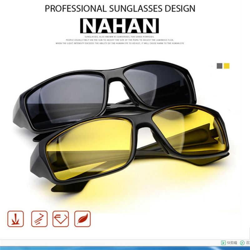 bcfefb936ac ... MOSILIN TAC HD Sunglasses Men Women Night Vision Driving Glasses  Goggles Driver Aviation Yellow Sun Glasses ...