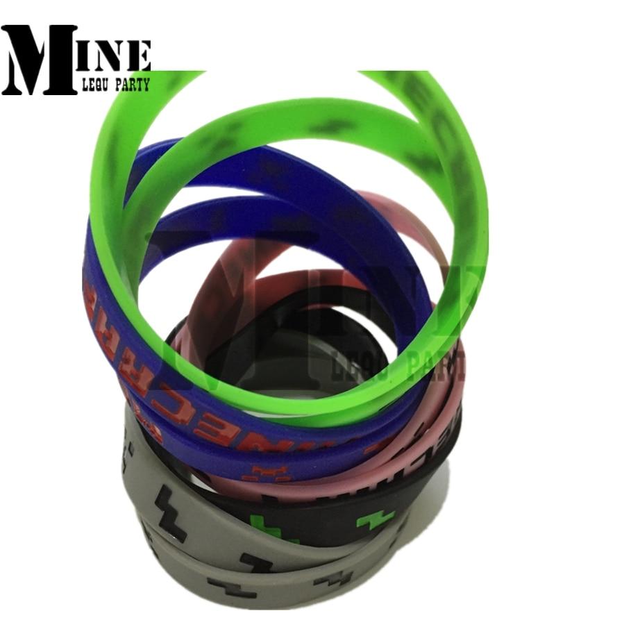 High Quality New 5 styles Minecraft wristband Mindcraft bracelet Mindcraft cuff Mindcraft accessories 200pcs 1Lot
