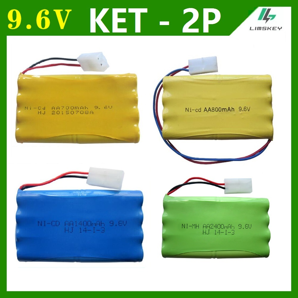 9.6V 700/800/1000/1400/2400mAh Remote Control toy eletric lighting lighting securty faclities AA Ni-Cd / Ni-MH battery group