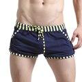 Nuevos hombres del traje de Baño Bañadores Hombre Pantalones Cortos de Algodón pantalones Cortos Ropa de Playa Masculino Casual Traje de Baño Corto Para Los Hombres