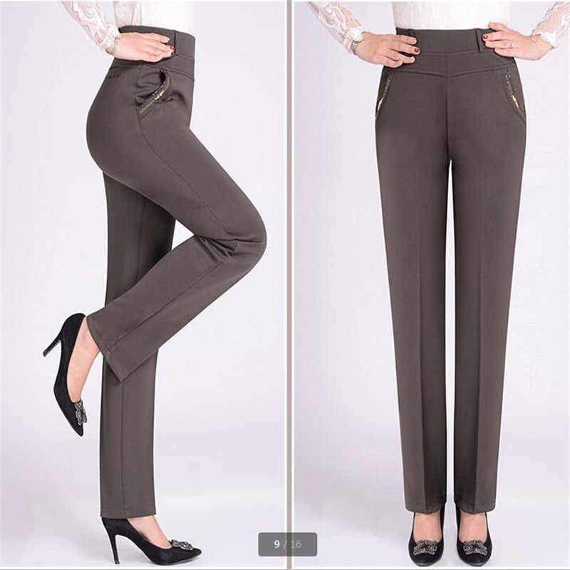 ... Fashion Casual pants women 2018 Long loose pants Tall waist Women s  pants NEW Spring autumn ... 6fdd4a732e1d