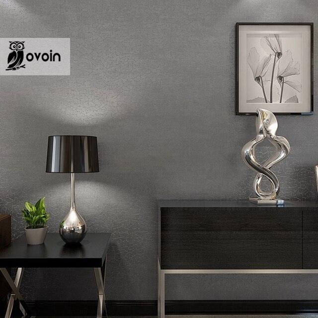 Dise o moderno llano textura gris crujido de paredes de for Patron de papel tapiz para sala comedor