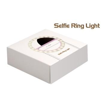 Anneau de selfie LED Rechargeable via USB 4