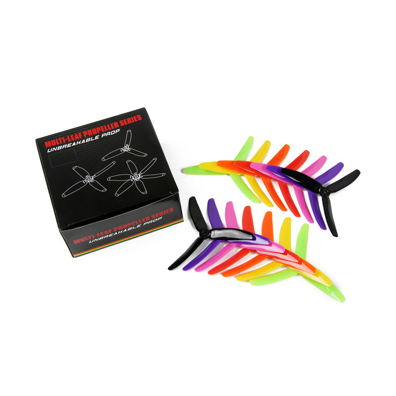 20pcs/lot Kingkong 5040 5045 5050 3-Blade Single Color CW CCW Propellers For FPV Racer RC Multicopter Spare Parts(10pair) high quality 14pcs lot kingkong 5040 5045 5050 3 blade single color cw ccw propellers for fpv racer rc multicopter spare parts