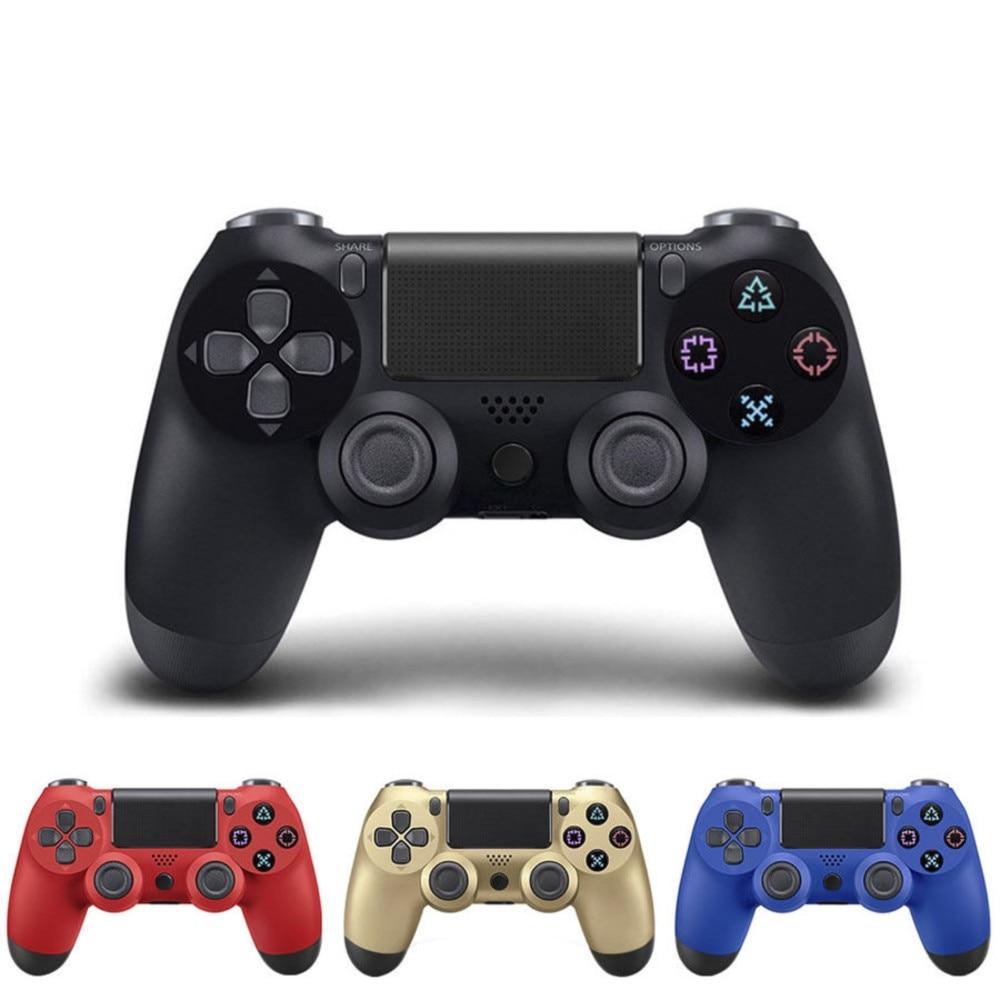 PS4 Drahtlose Bluetooth Spiel Controller Drahtlose Spiel Griff Vibration Band Touch Handschrift Funktion Gamepad