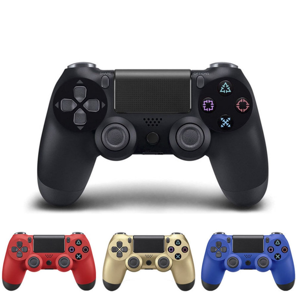 PS4 Wireless Bluetooth Game Controller Wireless Game Handle Vibration Band Touch Handwriting Function Gamepad все цены