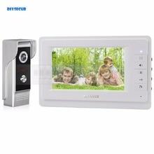 Diysecur HD 700 TVLine ИК Камера 7 дюймов tft Цвет ЖК-дисплей Дисплей видео-телефон двери Видеодомофоны Дверные звонки оптовая продажа
