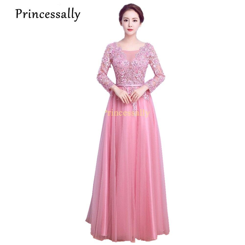Tienda Online Vestido de noche de banquetes princessally sweet pink ...