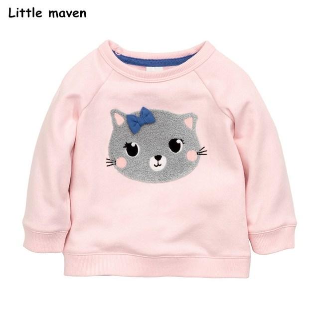 Little Maven Kitty Sweater