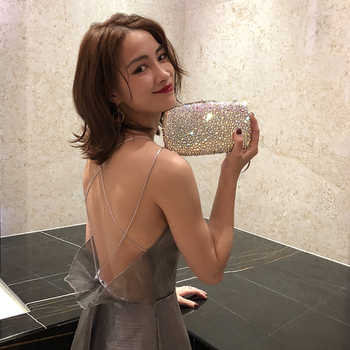 evening bags crystal hand bag luxury banquet symphony full diamond female models small bag 2017 new female mini Bag day clutches