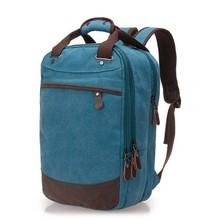 Bleu école toile sac à dos mâle version Coréenne de les courants de vent sac à dos cartable sac loisirs voyage sacs
