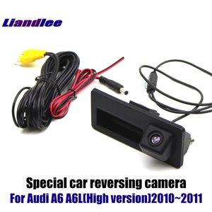 Image 4 - Actualización de pantalla de coche para Audi A6 A6L 2008 2009 2010 HD, decodificador de pantalla, reproductor, imagen de cámara de estacionamiento trasera y inversa