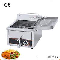 17L Commercial Electric Donut Churros French Fries Tornado Potato Deep Fryer With Tap Thermostat