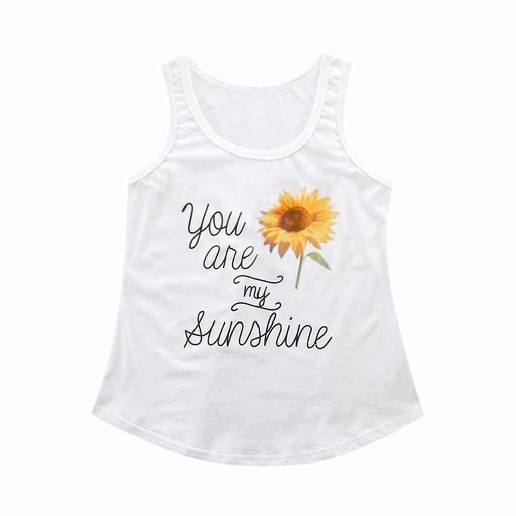 Madre hija familia ropa que combina trajes de aspecto familiar eres mi camiseta de sol + Me haces feliz mono de bebé estampado