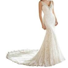 Alexzendra Mermaid Wedding Dress Bride Dresses