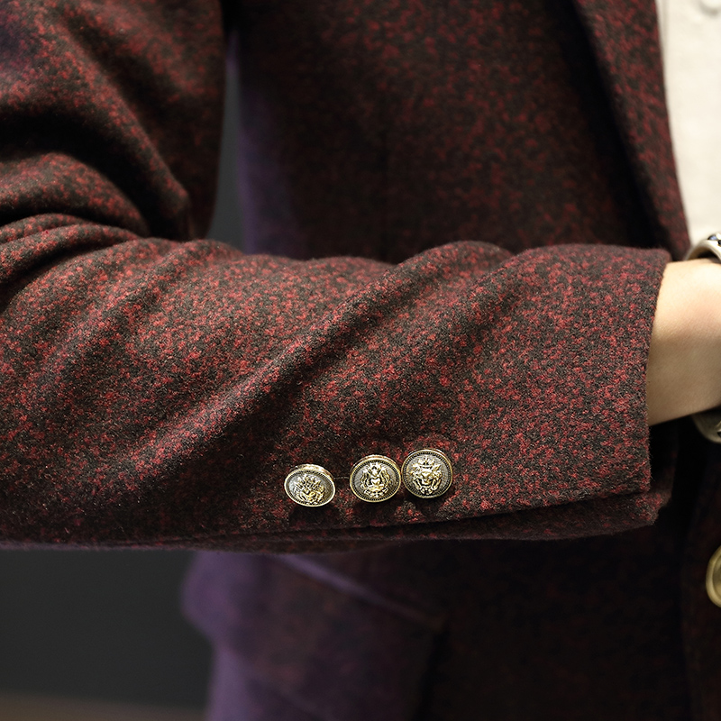 2016 Νέα Άφιξη Business mens blazer Casual Blazers Men - Ανδρικός ρουχισμός - Φωτογραφία 4