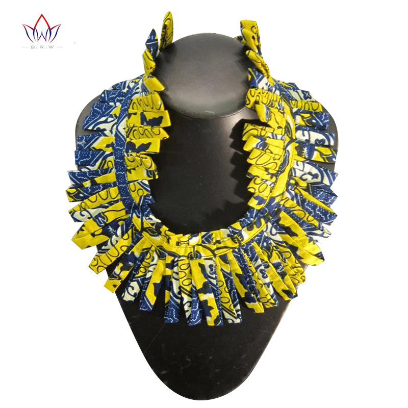 NEW African Print Necklace Ankara Print Necklace African Ethnic Handmade jewellery African fabric jewellery for Women WYB254 ethnic paisley print bandana