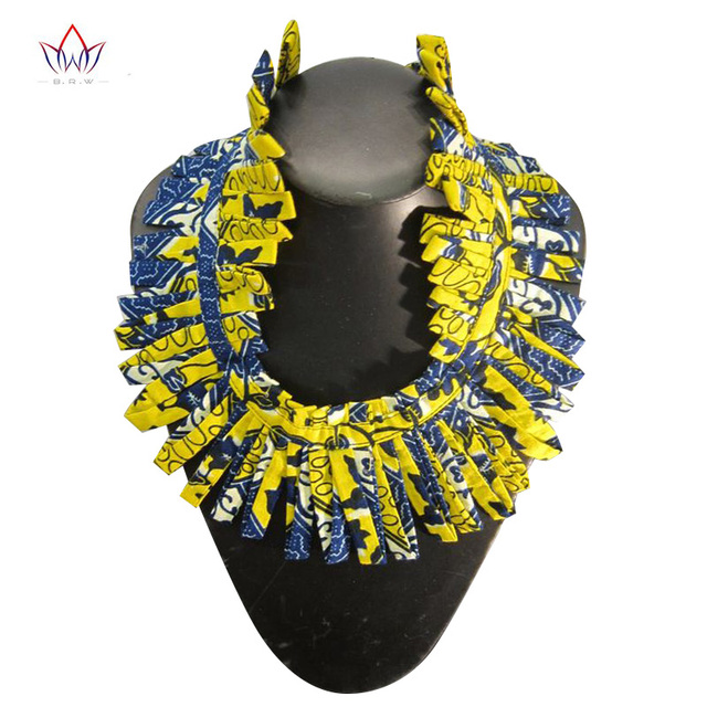e7684eaec NEW African Print Necklace Ankara Print Necklace African Ethnic Handmade  jewellery African fabric jewellery for Women