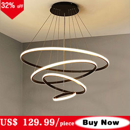 Metal moderno lâmpada do teto para casa