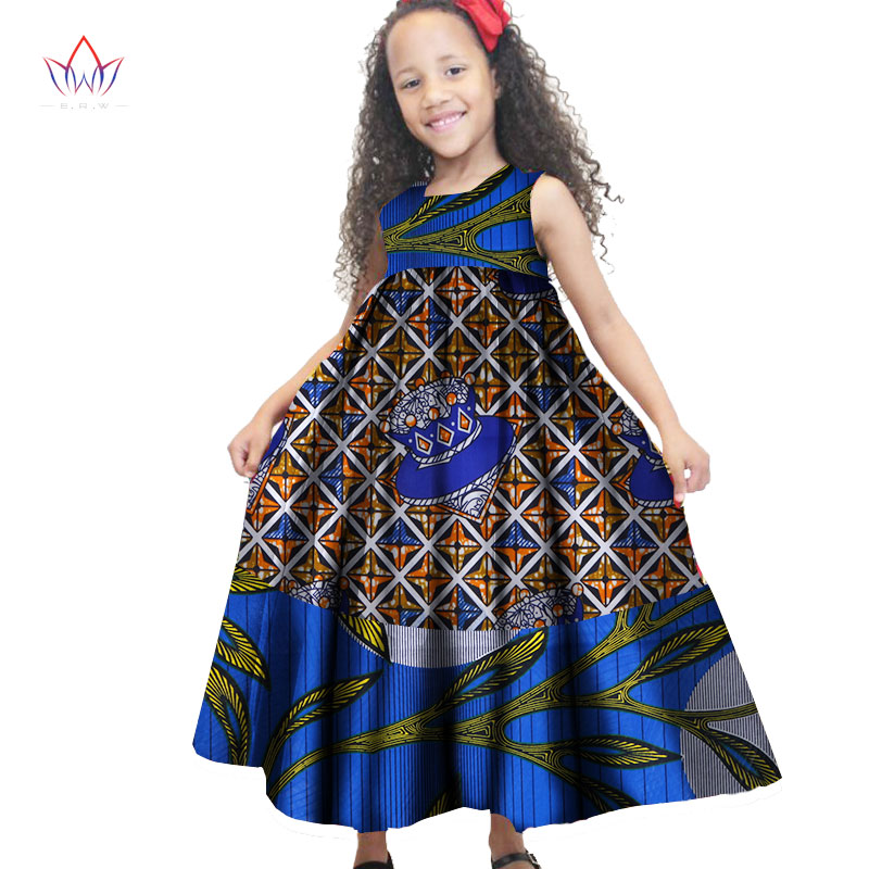 2018 African Women Clothing kids dashiki Traditional ...