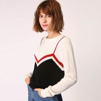 2017 пуловеры для женщин и свитеры для женщин пикантные корейские