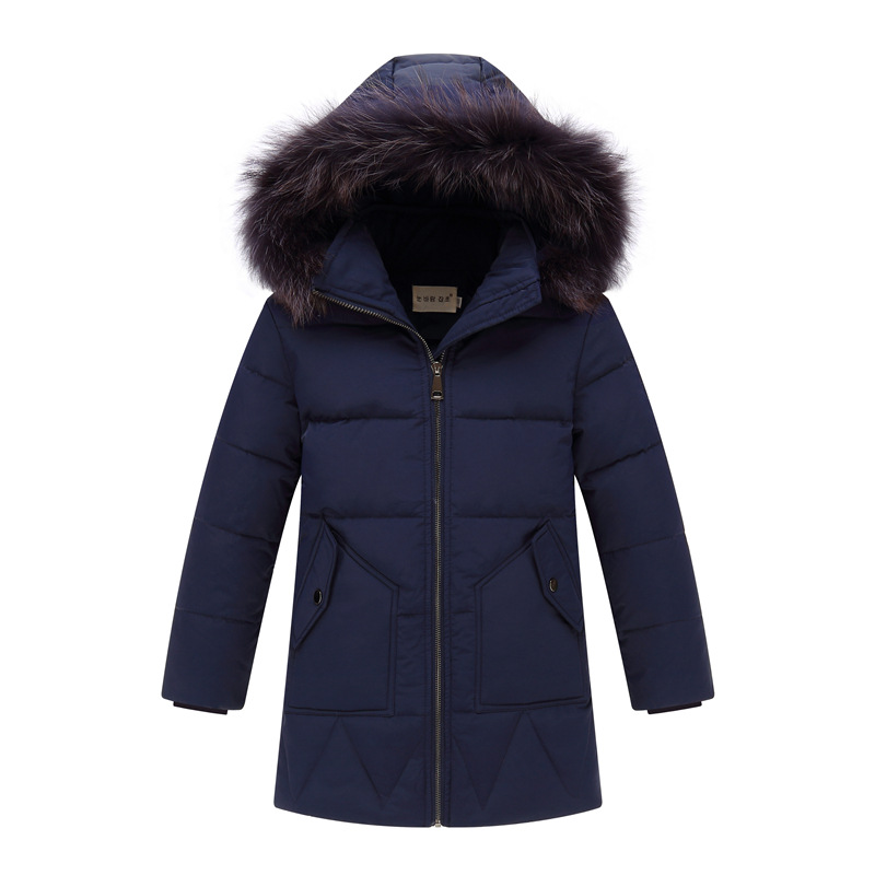 Boys Outerwear Coats Children's Cold winter clothes jacket boy for Boys down Jackets Coats warm Kids Baby thick -30 degree 2017 new boys winter thick warm coat kids school hooded casual jacket kid snow outerwear down cotton padded winter coats clothes