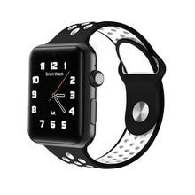 2017 DM09 Plus Bluetooth Montre Smart Watch SIM Carte Téléphone Couronne Commutateur horloge Soutien Facebook Twitter pour iOS Android PK IWO 2 IWO 3