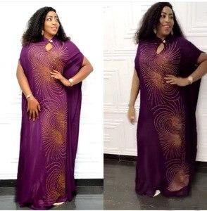 Image 2 - ความยาว150ซม.หน้าอก130ซม.ชุดแอฟริกันสำหรับผู้หญิงแอฟริกาเสื้อผ้ามุสลิมชุดยาวความยาวแฟชั่นแอฟริกันชุดสำหรับlady