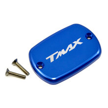 BJMOTO T MAX Motorcycle Accessories For YAMAHA T-Max 500 TMax 530 Max Brake Fluid Fuel Reservoir Tank Cap Cover