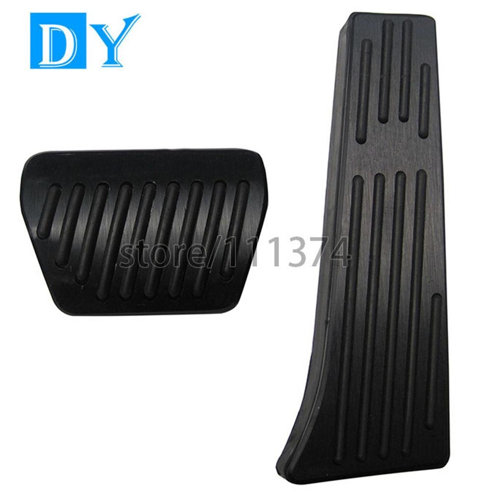 Bmw floor mats z4 - No Drill Pedals Aluminum Fuel Brake Black Pedal At For Bmw 1 3 4