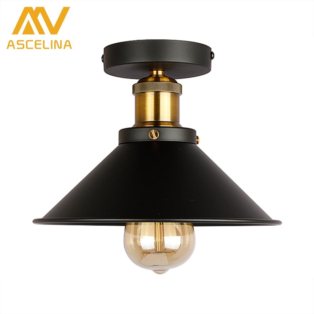 American Ceiling Lights ASCELINA LOFT Vintage Industrial Adjustable Led Ceiling Lamp Home Lighting Lamps Living Room