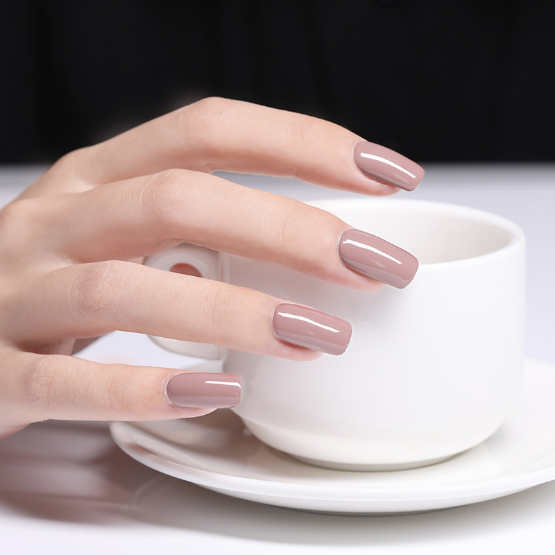 Coffee Gray Red Series Nail Art Polish Beauty & Skin Care Nail Art