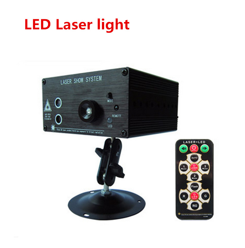 LED Laser Stage Lighting  RG Mini Led Laser Projector 3W Blue Light Effect Show For DJ Disco Party Lights new hot 2 lens ceiling lamp laser light stage light dj disco stage 150mw rg recessed laser dj pro show lighting