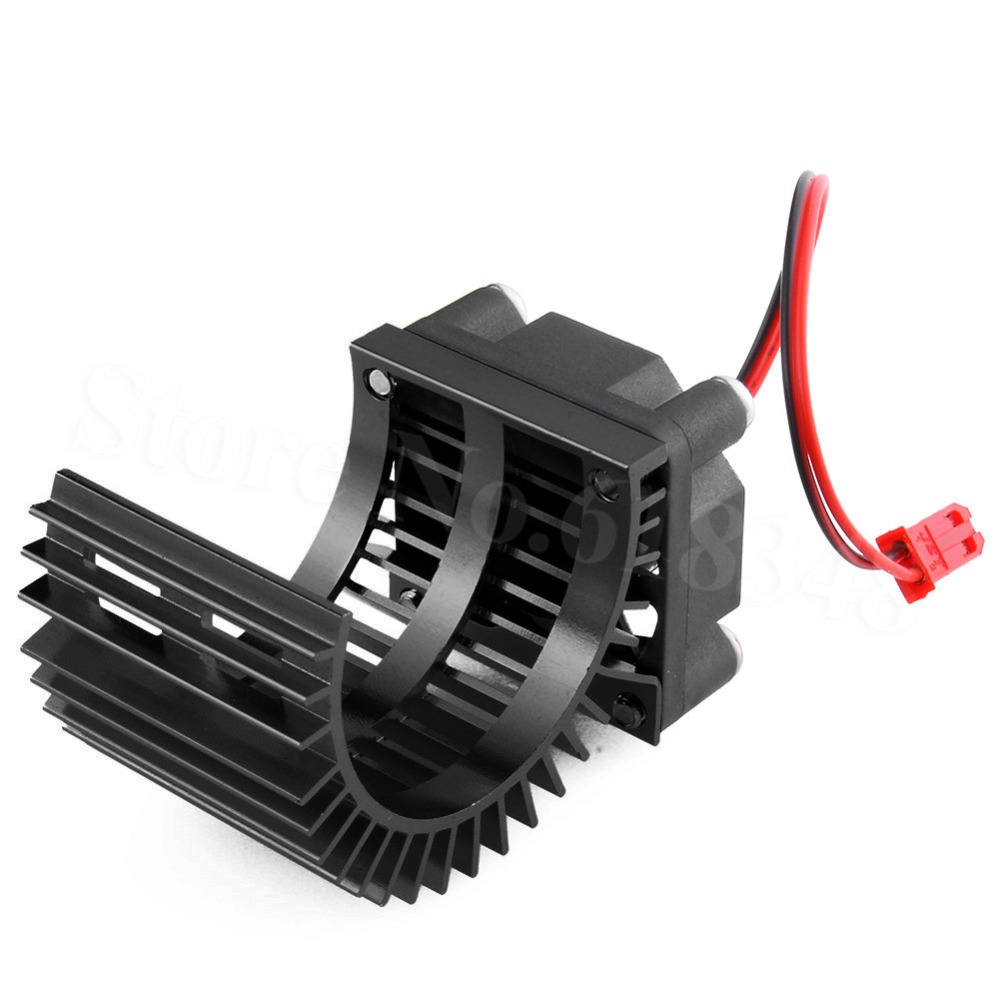 Brushless Motor Heatsink + Fan Cooling 550 540 Size RS540 Heat Sink Cover Electric Engine For RC model Car HSP 7014