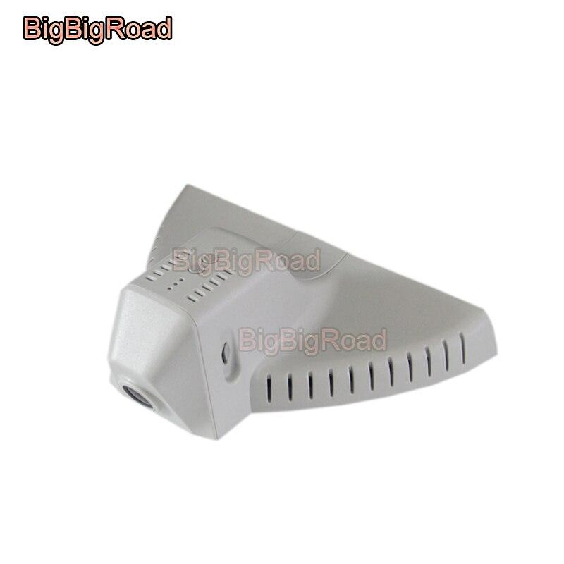 BigBigRoad Car wifi DVR Video Recorder hidden Installation Car black box dashcam For Skoda Superb Kodiaq top Version