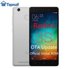 "In stock Xiaomi Redmi 3S Mobile Phone 16GB ROM Snapdragon 430 global firmware OTA update Fingerprint ID 5.0"""