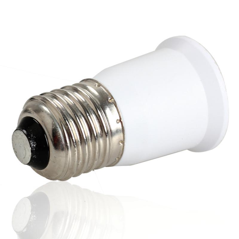 New E27 To E27 Extension Socket Base CLF LED Light Bulb Lamp Adapter Converter Plug Extender LED Light Use