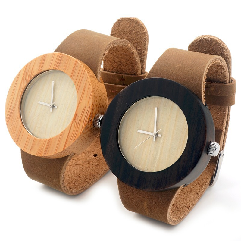 ФОТО BOBO BIRD C07 Fashion Quartz watches handmade wood wristwatches women's dress luxulry wooden watch for Men Women in Gift Box