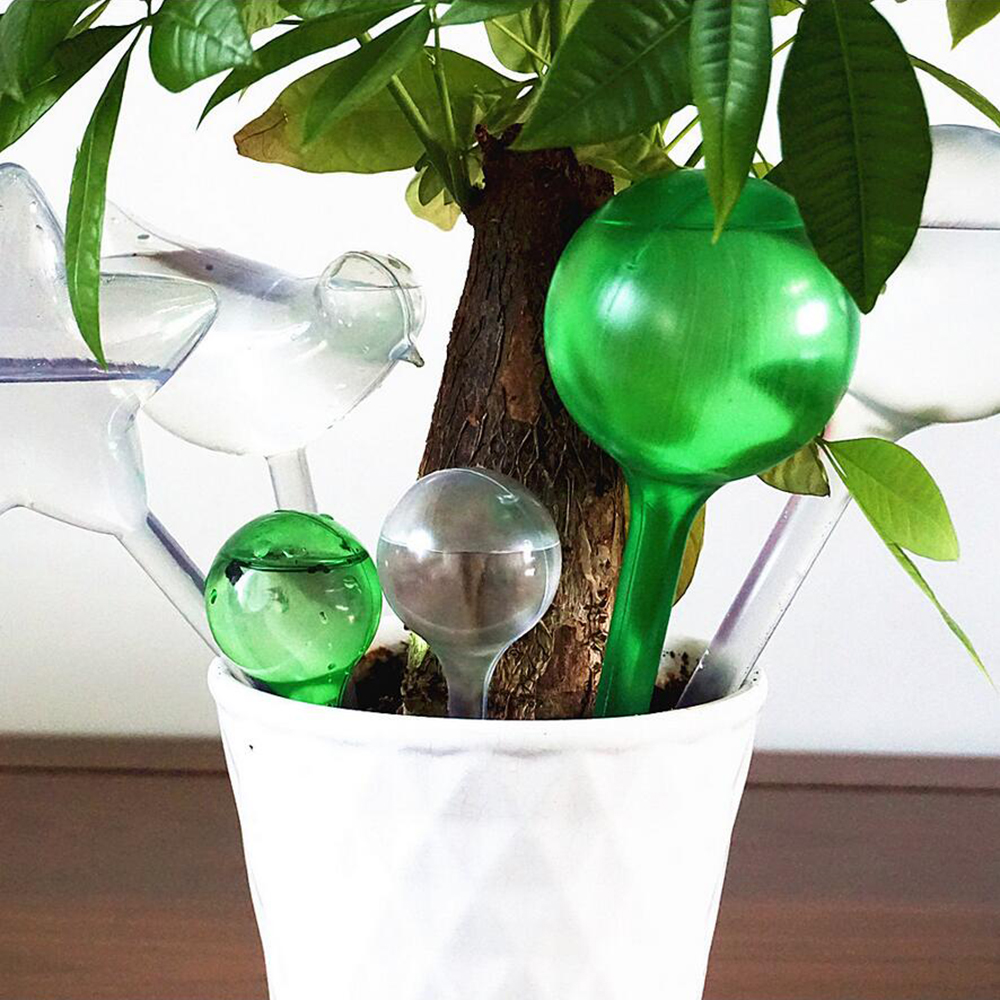 1PC Large Size Plastic House/Garden Water Houseplant Plant Pot Bulb Automatic Self Watering Device Home Decoration 4 Types 45gA image