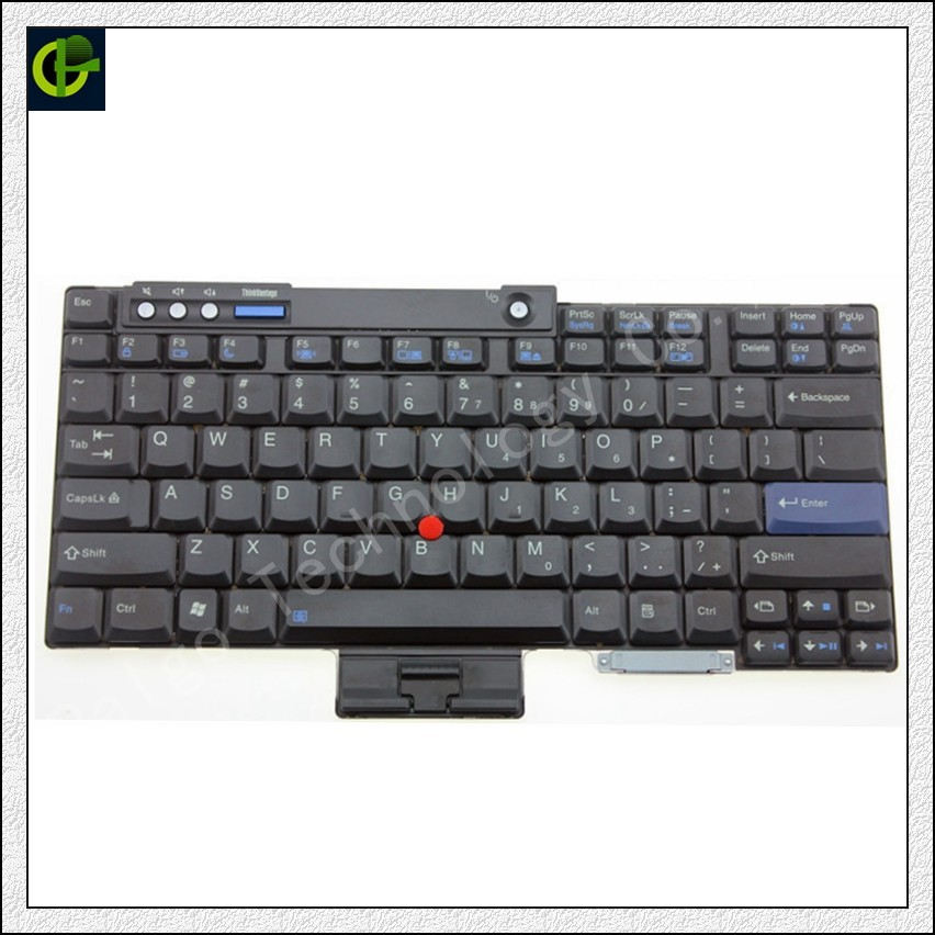 New English Keyboard For Lenovo IBM T60 T60P T61 T61P R60 R61 Z60 Z60M Z60T Z61E Z61 Z61M Z61T T500 T400 R400 R500 W500 W700 US