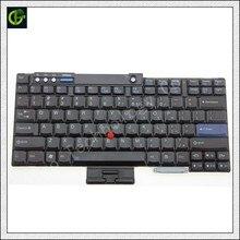 Английский Клавиатура для lenovo IBM T60 T60P T61 T61P R60 R61 Z60 Z60M Z60T Z61E Z61 Z61M Z61T T500 t400 R400 R500 W500 W700 нам