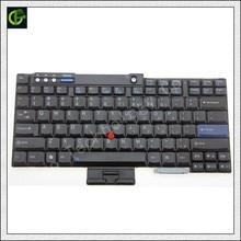 Nuevo teclado en inglés para Lenovo IBM T60 T60P T61 T61P R60 R61 Z60 Z60M Z60T Z61E Z61 Z61M Z61T T500 t400 R400 R500 W500 W700 nos