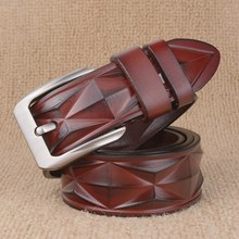 New Design Luxury Pin Buckle Leather Belt For Men